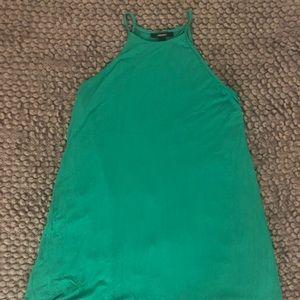 Forever 21 Green Halter Dress
